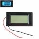 Электронный встраиваемый вольтметр LCD AC 80В-500В (синяя подсветка, 3 разряда) 79х43х15мм 2 провода